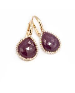 Diamond Gemstone Drop
